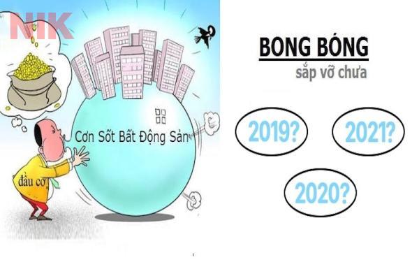 Dự đoán trong năm 2021 này sẽ không xuất hiện tình trạng bong bóng bất động sản trên diện rộng