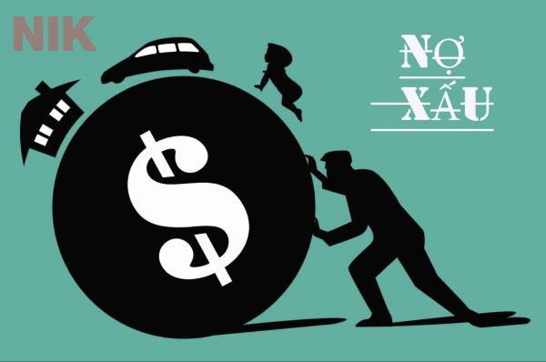 Nợ xấu là một trọng những hệ lụy của bong bóng bất động sản