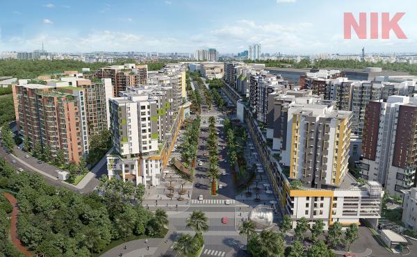 Toàn cảnh Sky Linked Villa Tân Phú