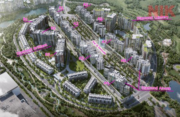 Khu đô thị Diamond Century - Celadon City Tân Phú