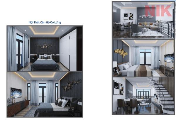 Nội thất nhà ở thương mại Ruby Boutique Residence Tân Phú