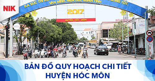 bản đồ quy hoạch chi tiết huyện Hóc Môn