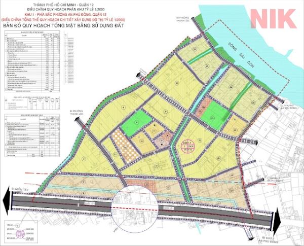 Bản đồ quy hoạch sử dụng đất Thạnh Lộc mới nhất