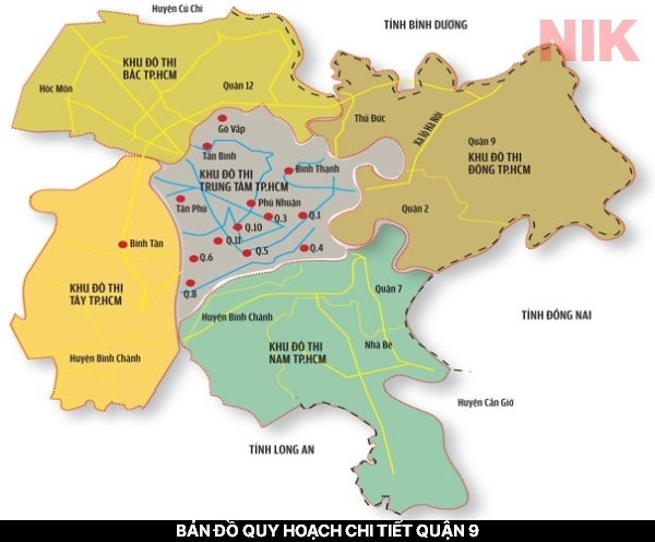 Sáp nhập quận 9, quận 2 và quận Thủ Đức thành thành phố Thủ Đức