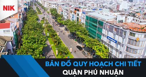 bản đồ quy hoạch chi tiết quận Phú Nhuận