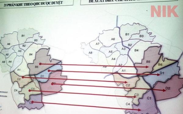 Triển khai quy hoạch các phân khu tại Đồng Nai