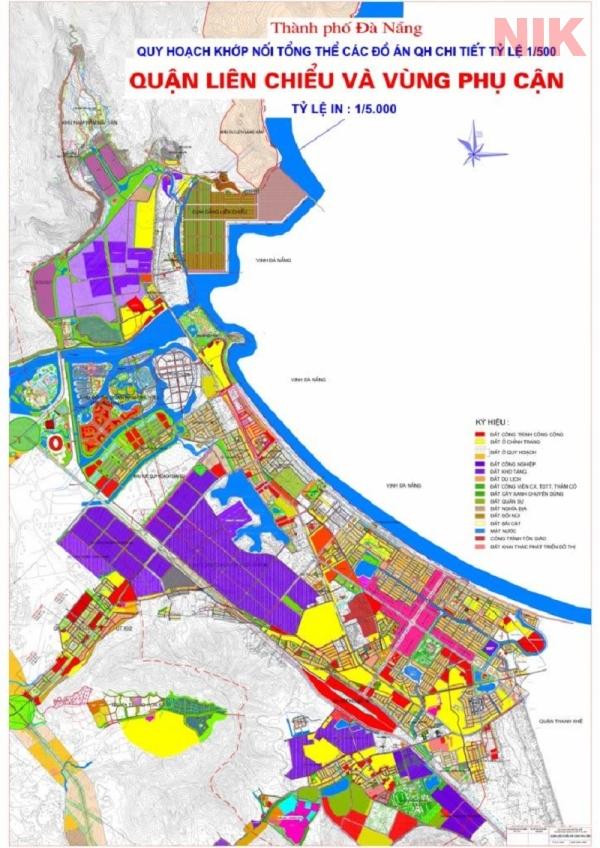 Bản đồ quy hoạch chi tiết đà nẵng quận Liên Chiểu