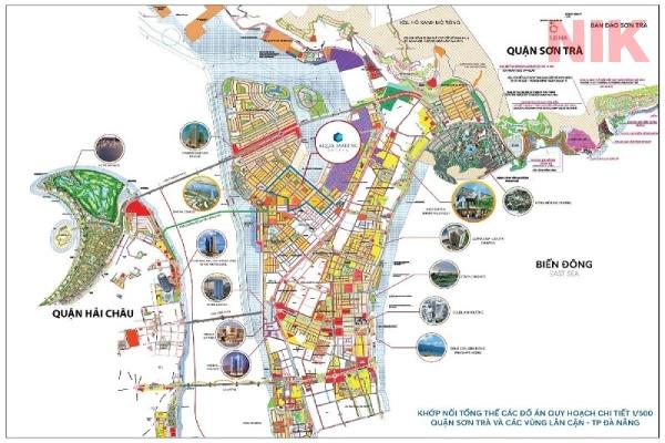 Bản đồ quy hoạch chi tiết thành phố Đà Nẵng quận Sơn Trà