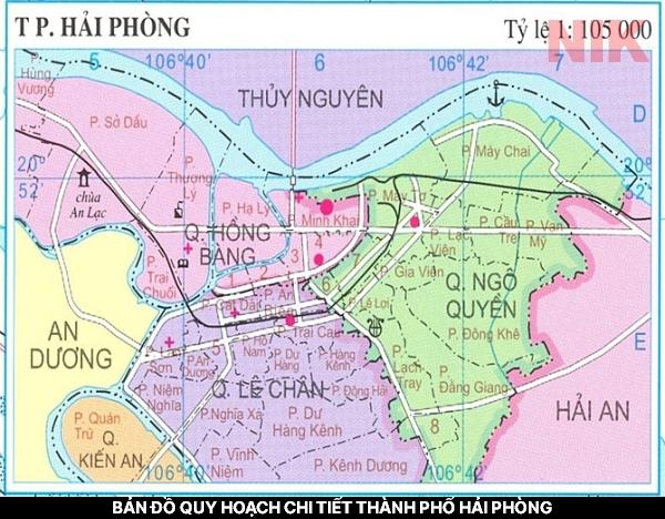 Bản đồ quy hoạch chi tiết thành phố Hải Phòng - Tổng quan
