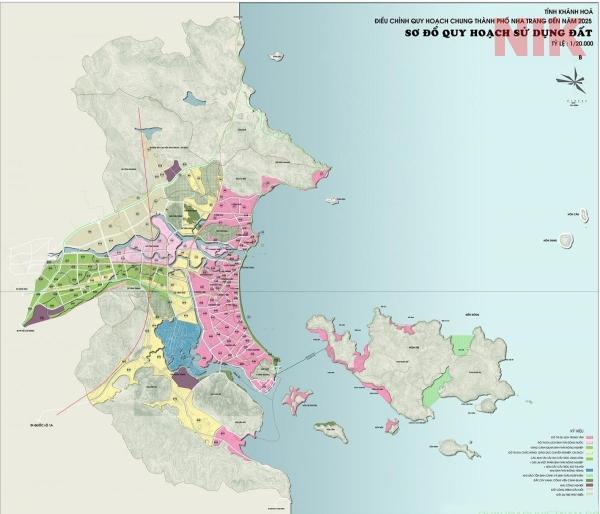 Bản đồ quy hoạch chi tiết thành phố Nha Trang