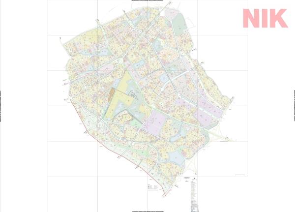 Bản đồ quy hoạch sử dụng đất Hà Nội tại Long Biên