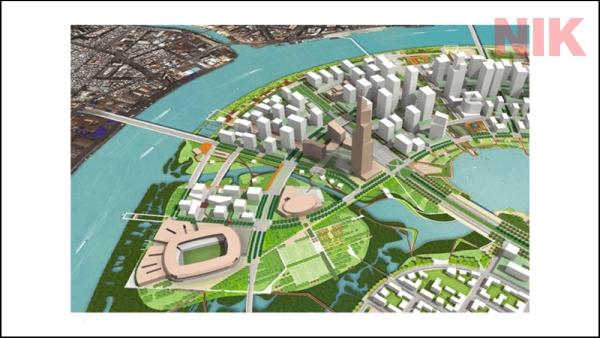 Khu chức năng số 2 Thủ Thiêm phứcc hợp giữa khu dân cư, thương mại và thể thao