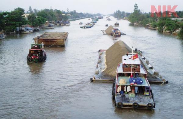Phát triển giao thông đường thủy tỉnh An Giang