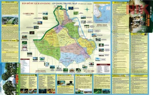 Bản đồ du lịch tỉnh An Giang