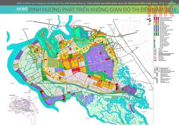 Bản đồ quy hoạch sử dụng đất tỉnh Đồng Nai