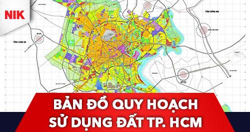 bản đồ quy hoạch sử dụng đất tp hcm