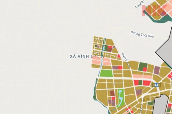 Bản đồ quy hoạch phân khu sử dụng đất