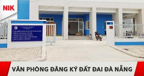 văn phòng đăng ký đất đai đà nẵng