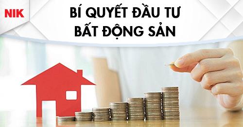 bí quyết kinh doanh bất động sản