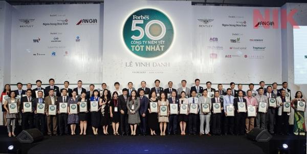 Công ty Cổ phần Tập đoàn Hà Đô lọt top 50 doanh nghiệp niêm yết tốt nhất 2017