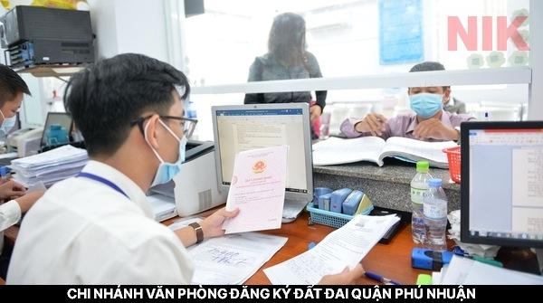 Chi nhánh văn phòng đăng ký đất đai quận Phú Nhuận