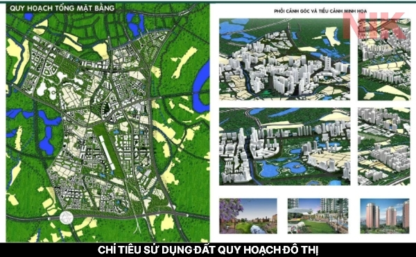 Chỉ tiêu sử dụng đất quy hoạch đô thị là gì ?
