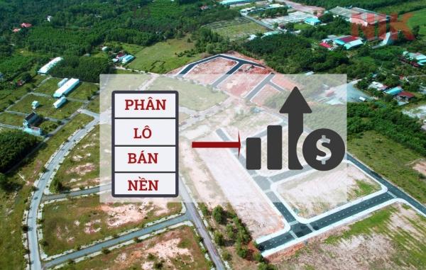 Phân lô bán đất nền, hình thức đầu tư bất động sản
