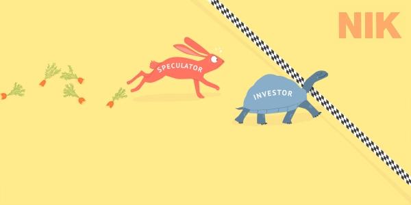 Đầu tư và đầu cơ là khách biệt nhau khi tìm hiểu về đầu tư là gì