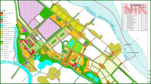 Bản đồ quy hoạch 1/5000