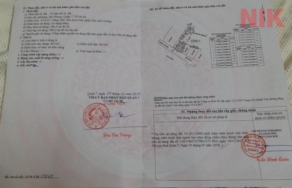 Rủi ro khi không có giấy chứng nhận quyền sử dụng đất rất cao