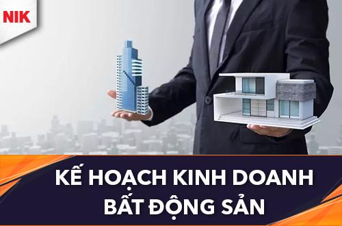 kế hoạch kinh doanh bất động sản