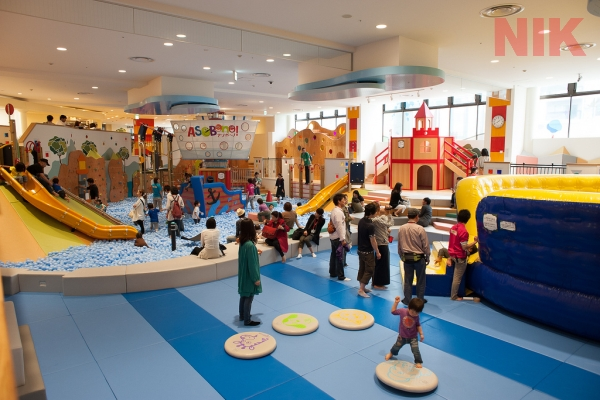 Kinh nghiệm đầu tư khu vui chơi trẻ em trong nhà