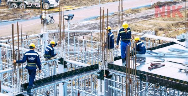 Triển khai thi công dự án xây dựng
