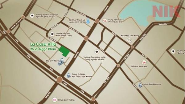Quy hoạch các tuyến đường cấp khu vực trong quận Đống Đa