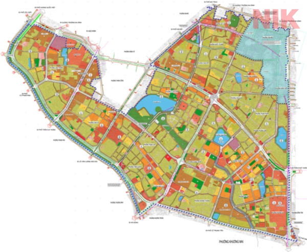 Bản đồ quy hoạch giao thông quận Đống Đa 2021
