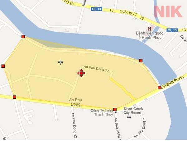 Quy hoạch chi tiết về xây dựng đô thị tỷ lệ 1/2000 tại An Phú Đông