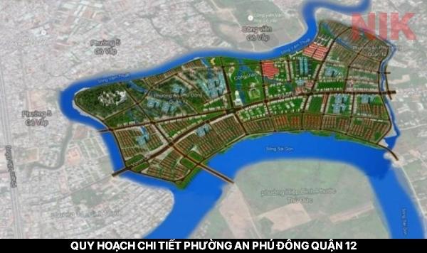 Tổng quan quy hoạch chi tiết phường an phú đông quận 12