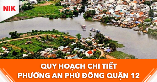 quy hoạch chi tiết phường An Phú Đông quận 12