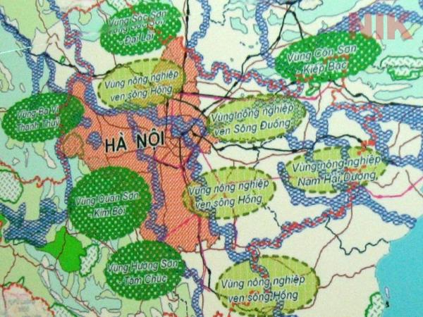 Một bản quy hoạch sử dụng đất nông nghiệp chi tiết