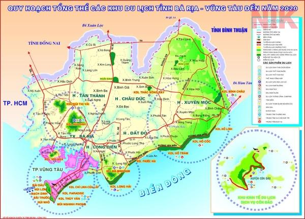 Mục tiêu quy hoạch sử dụng đất thành phố Vũng Tàu