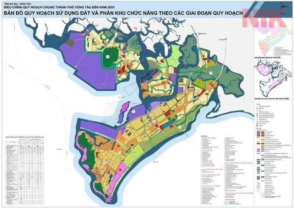 Quy hoạch sử dụng đất thành phố Vũng Tàu