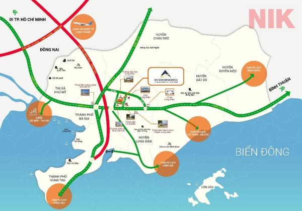 Quy hoạch giao thông của tỉnh Bà Rịa- Vũng Tàu