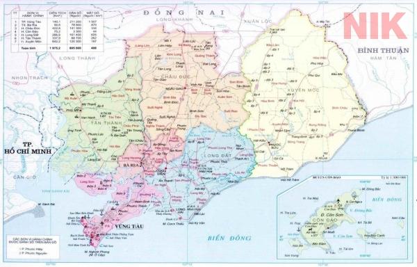 Thông tin quy hoạch thành phố Bà Rịa và quy hoạch sử dụng đất tỉnh bà rịa vũng tàu