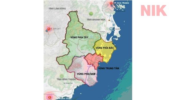 Kế hoạch phân vùng trong quy hoạch phát triển của tỉnh Ninh Thuận 2021