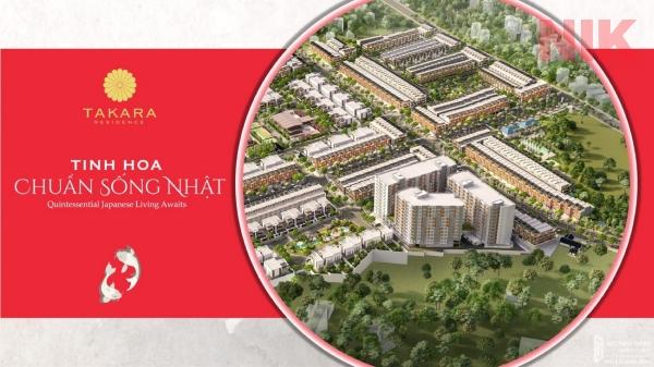 Dự án thị trường bất động sản Bình Dương tại nhà phố Takara Residence Chánh Nghĩa