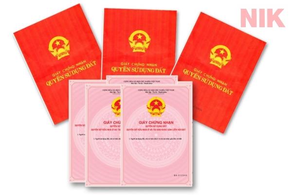 Sổ đỏ và sổ hồng có giá trị pháp lý như nhau