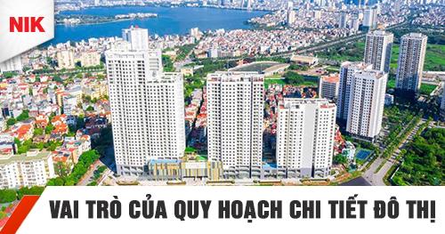 vai trò của quy hoạch chi tiết đô thịvai trò của quy hoạch chi tiết đô thị