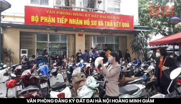 Văn phòng đăng ký đất đai Hà Nội Hoàng Minh Giám