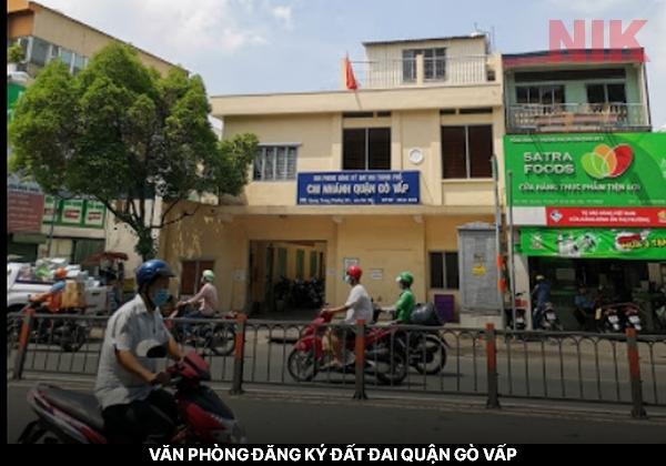 Văn phòng đăng ký đất đai quận Gò Vấp