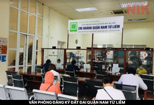 Văn phòng đăng ký đất đai quận Nam Từ Liêm
